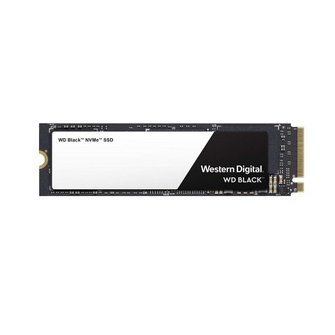 Front side of the Western Digital WDS500G2X0C NVMe SSD.