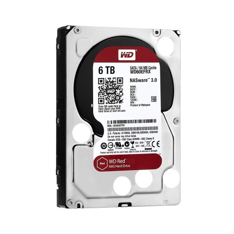 WD60EFRX 6TB Red Side View two.