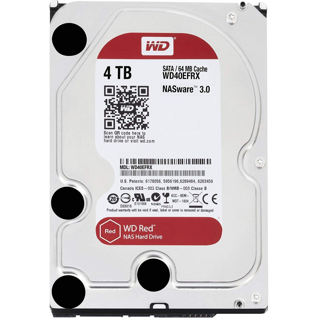 Western Digital WD40EFRX product image.