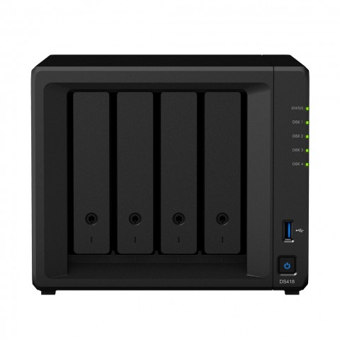 Synology DS418 product image.