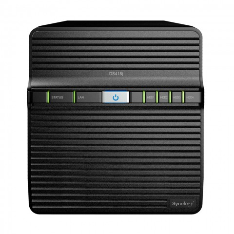 Synology DS418J product image.